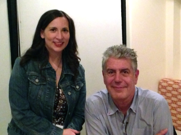 Me and Anthony Bourdain